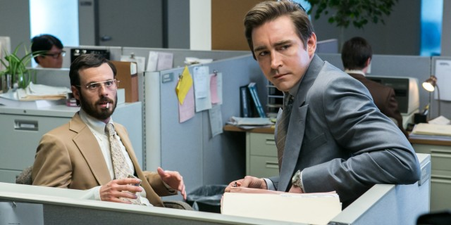 Scoot McNairy and Lee Pace - Halt and Catch Fire _ Season 1, Episode 1